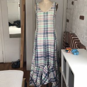RL cotton maxi dress